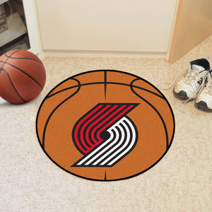 "NBA - Portland Trail Blazers Basketball Mat 27"" diameter"