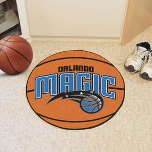 "NBA - Orlando Magic Basketball Mat 27"" diameter"