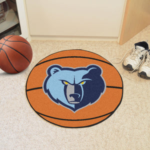 "NBA - Memphis Grizzlies Basketball Mat 27"" diameter"