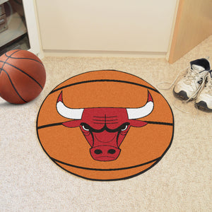 "NBA - Chicago Bulls Basketball Mat 27"" diameter"