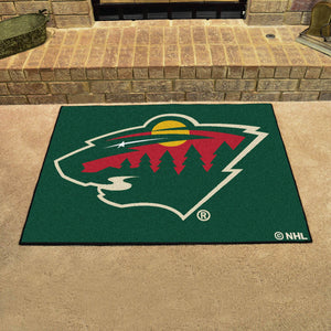 "NHL - Minnesota Wild All-Star Mat 33.75""x42.5"""