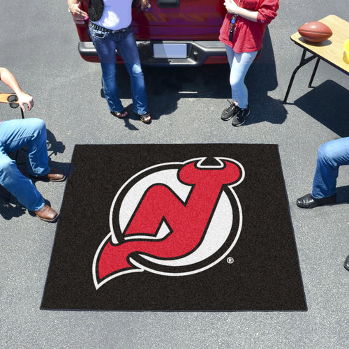 NHL - New Jersey Devils Tailgater Rug 5'x6'