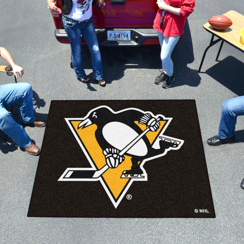 NHL - Pittsburgh Penguins Tailgater Rug 5'x6'