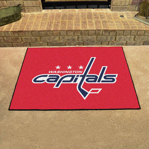 "NHL - Washington Capitals All-Star Mat 33.75""x42.5"""