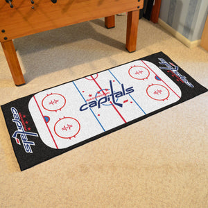 "NHL - Washington Capitals Rink Runner 30""x72"""