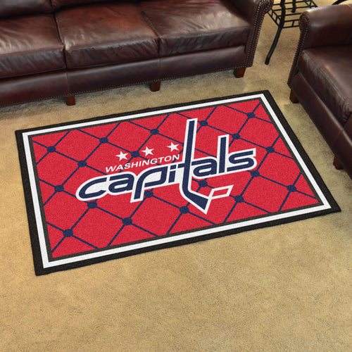 NHL - Washington Capitals 4'x6' Rug