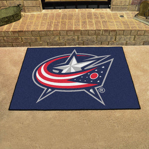 "NHL - Columbus Blue Jackets All-Star Mat 33.75""x42.5"""