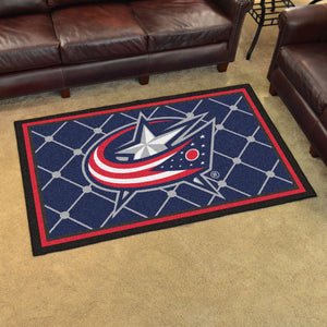 NHL - Columbus Blue Jackets 4'x6' Rug