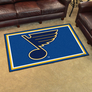 NHL - St. Louis Blues 4'x6' Rug