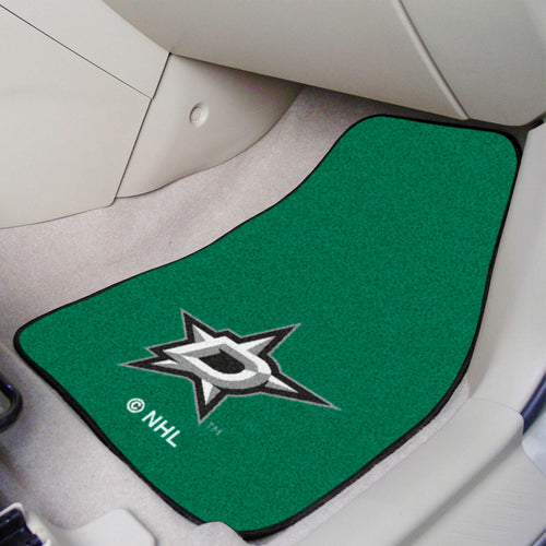 NHL - Dallas Stars 2-pc Printed Carpet Car Mats 17