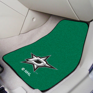 "NHL - Dallas Stars 2-pc Printed Carpet Car Mats 17""x27"""