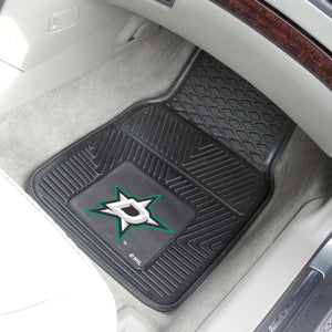 "NHL - Dallas Stars 2-pc Vinyl Car Mats 17""x27"""
