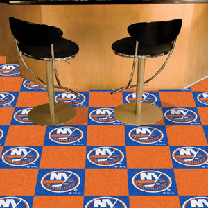 "NHL - New York Islanders 18""x18"" Carpet Tiles"
