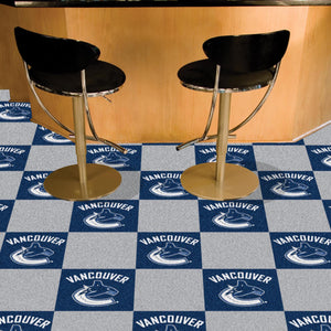 "NHL - Vancouver Canucks 18""x18"" Carpet Tiles"