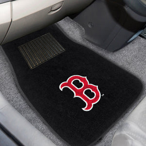 "MLB - Boston Red Sox 2-pc Embroidered Car Mats 18""x27"""