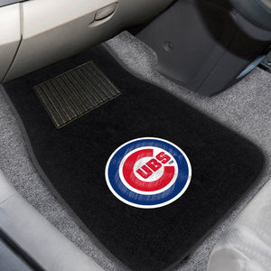 "MLB - Chicago Cubs 2-pc Embroidered Car Mats 18""x27"""