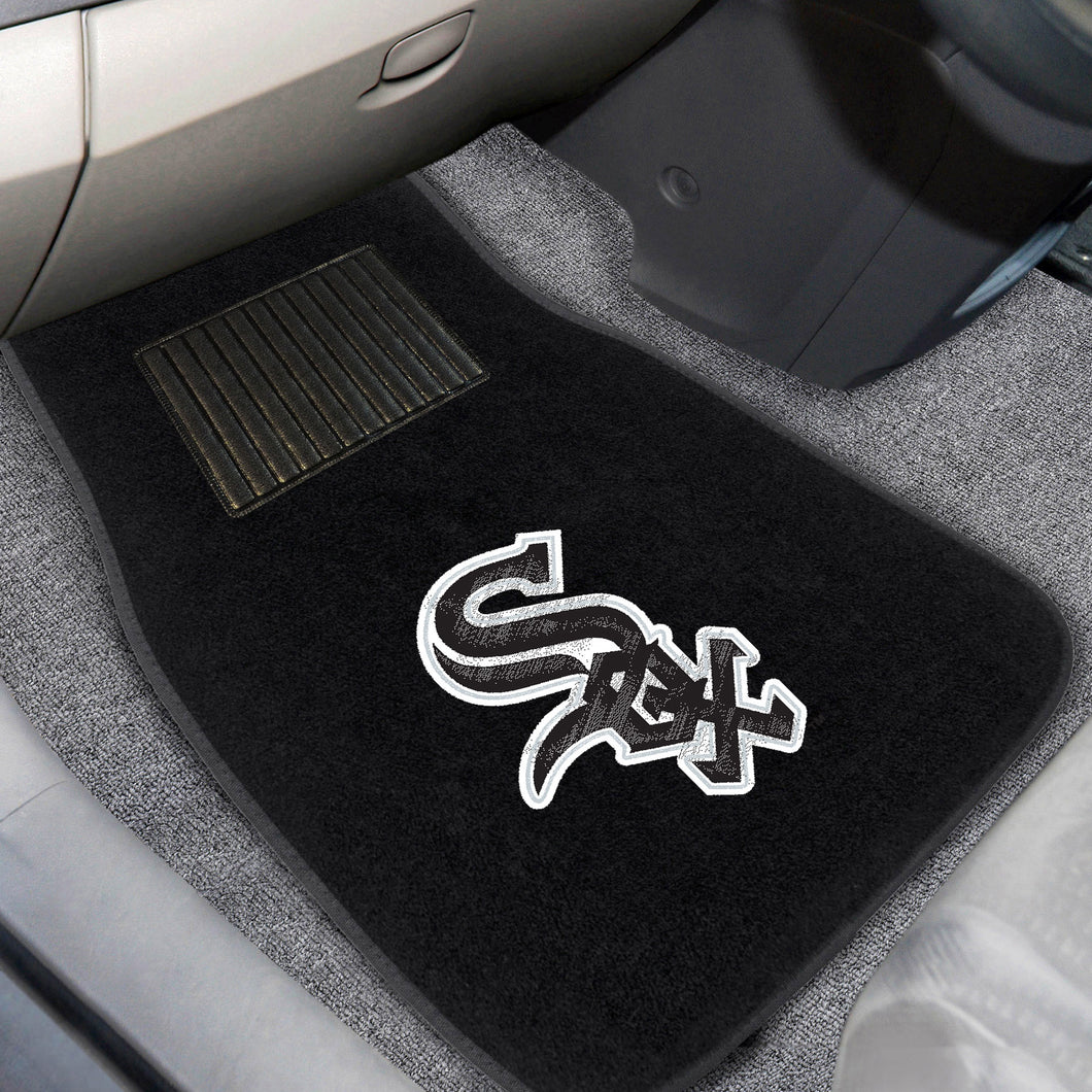 MLB - Chicago White Sox 2-pc Embroidered Car Mats 18