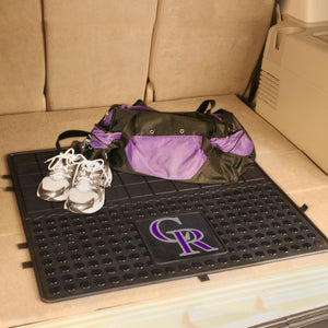"MLB - Colorado Rockies Vinyl Cargo Mat 31""x31"""
