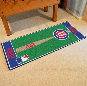 "MLB - Chicago Cubs Baseball Runner 30""x72"""