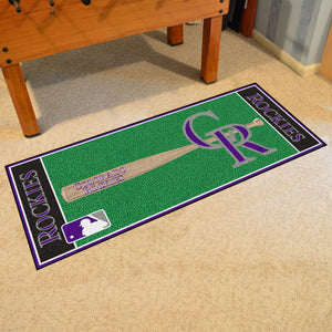 "MLB - Colorado Rockies Baseball Runner 30""x72"""