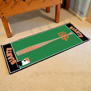 "MLB - San Francisco Giants Baseball Runner 30""x72"""