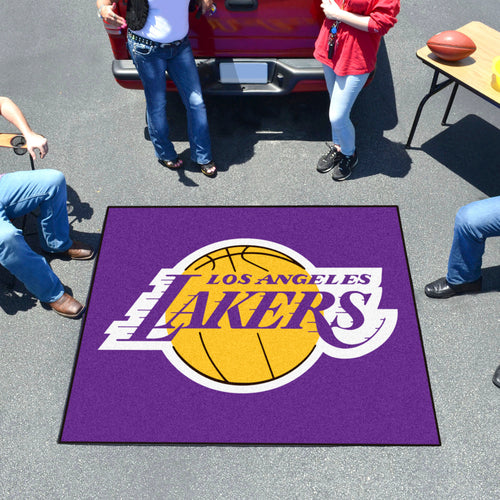 NBA - Los Angeles Lakers Tailgater Rug 5'x6'