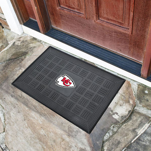 "NFL - Kansas City Chiefs Door Mat 19.5""x31.25"""
