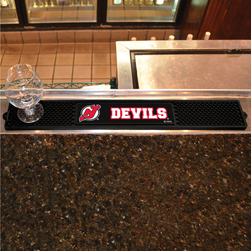NHL - New Jersey Devils Drink Mat 3.25