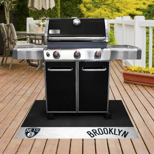 "NBA - Brooklyn Nets Grill Mat 26""x42"""
