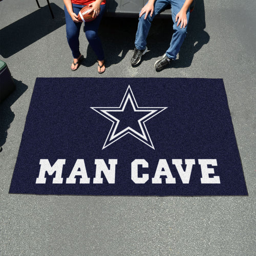 NFL - Dallas Cowboys Man Cave UltiMat 5'x8' Rug