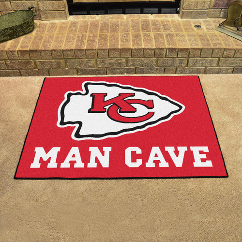 NFL - Kansas City Chiefs Man Cave All-Star Mat 33.75
