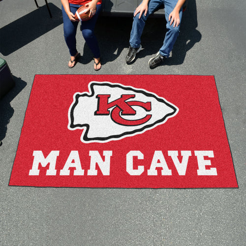 NFL - Kansas City Chiefs Man Cave UltiMat 5'x8' Rug