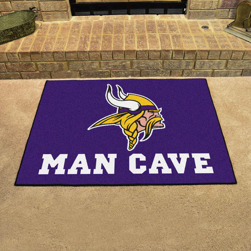 NFL - Minnesota Vikings Man Cave All-Star Mat 33.75