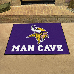 "NFL - Minnesota Vikings Man Cave All-Star Mat 33.75""x42.5"""