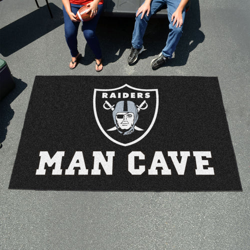 NFL - Oakland Raiders Man Cave UltiMat 5'x8' Rug