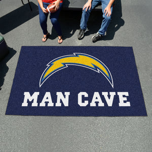 NFL - Los Angeles Chargers Man Cave UltiMat 5'x8' Rug
