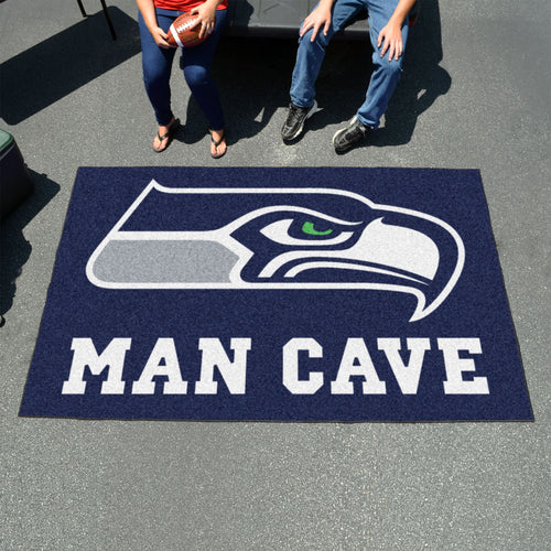 NFL - Seattle Seahawks Man Cave UltiMat 5'x8' Rug