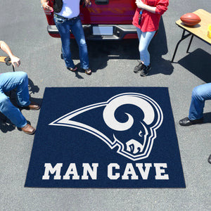 NFL - Los Angeles Rams Man Cave Tailgater Rug 5'x6'