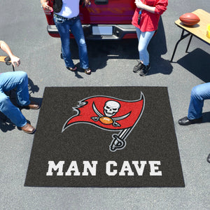 NFL - Tampa Bay Buccaneers Man Cave Tailgater Rug 5'x6'