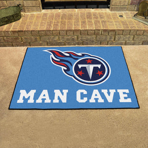 "NFL - Tennessee Titans Man Cave All-Star Mat 33.75""x42.5"""