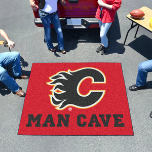 NHL - Calgary Flames Man Cave Tailgater Rug 5'x6'