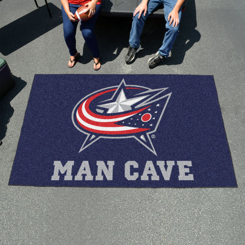 NHL - Columbus Blue Jackets Man Cave UltiMat 5'x8' Rug