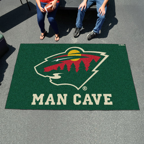 NHL - Minnesota Wild Man Cave UltiMat 5'x8' Rug