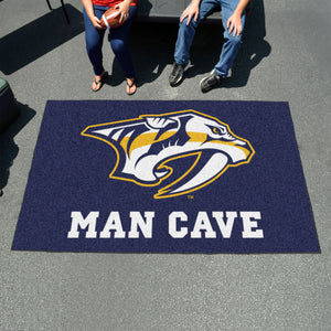 NHL - Nashville Predators Man Cave UltiMat 5'x8' Rug