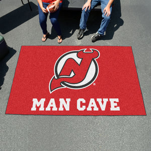 NHL - New Jersey Devils Man Cave UltiMat 5'x8' Rug