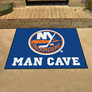 "NHL - New York Islanders Man Cave All-Star Mat 33.75""x42.5"""