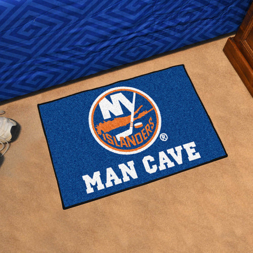 NHL - New York Islanders Man Cave Starter Rug 19