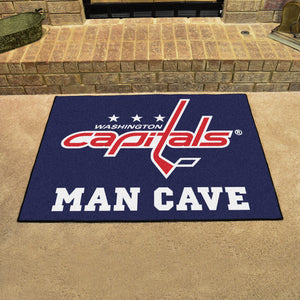"NHL - Washington Capitals Man Cave All-Star Mat 33.75""x42.5"""