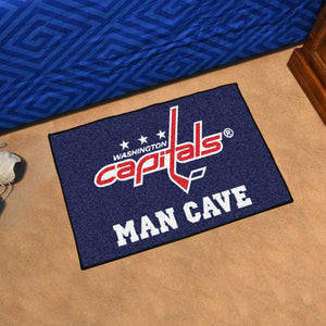 "NHL - Washington Capitals Man Cave Starter Rug 19""x30"""