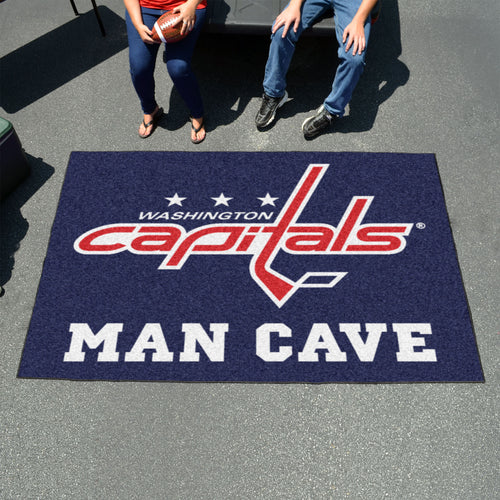 NHL - Washington Capitals Man Cave UltiMat 5'x8' Rug